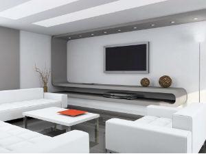 עיצוב סלון בבתים מעוצבים